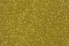 Golden glitter texture abstract background Stock Image