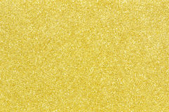 Golden glitter texture background Stock Photography