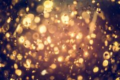 Golden glitter texture Colorfull Blurred abstract background for. Birthday, anniversary, wedding, new year eve or Christmas Stock Image
