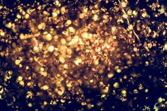 Golden glitter texture Colorfull Blurred abstract background for. Birthday, anniversary, wedding, new year eve or Christmas Royalty Free Stock Photos