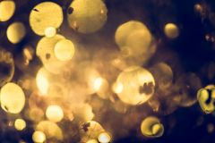Golden glitter texture Colorfull Blurred abstract background for Stock Photography