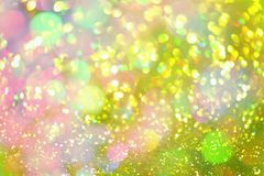 Golden glitter texture Colorfull Blurred abstract background Stock Photography