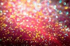 Golden glitter texture Colorfull Blurred abstract background for. Birthday, anniversary, wedding, new year eve or Christmas Stock Photography