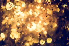Golden glitter texture Colorfull Blurred abstract background for Royalty Free Stock Image