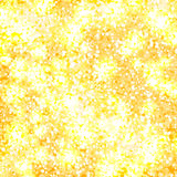 Golden glitter vector background Royalty Free Stock Photos
