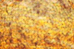 Golden glittering background stock photos
