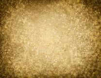 Golden glittering background Stock Photos