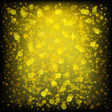 Golden Glittering Background Royalty Free Stock Photos