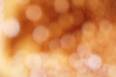 Golden glittering lights Royalty Free Stock Photo