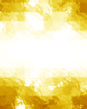 Golden glitters Royalty Free Stock Image