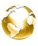 Golden globe Stock Photo