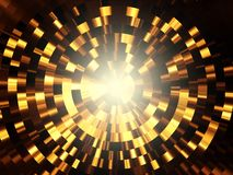 Golden Glow Royalty Free Stock Images