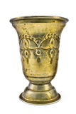 Golden goblet Stock Photography