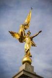 Golden goddess Stock Image