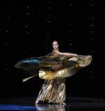 Golden goddess-Turkey belly dance-the Austria's world Dance Stock Images