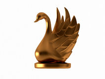 Golden goose Royalty Free Stock Photography