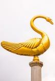 Golden Goose is on stilts look beautiful. Golden Goose is on stilts look beautiful Stock Photography