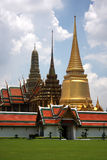 Golden Grand palace in Bangkok Thailand Royalty Free Stock Photography
