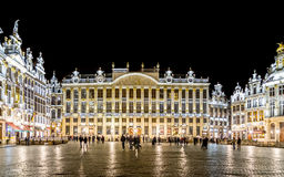 Golden Grand Place Royalty Free Stock Photography