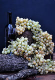 Golden grapes bunch Royalty Free Stock Photo