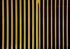 Golden grating texture Stock Photos