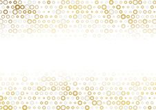 Golden and grey dots abstract background stock illustration