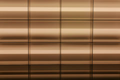 Golden Grid Background Stock Image