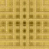 Golden grid background with in metallic design, flyer, leaflet, book cover, manual overlay, low contrasting illustration Stock Photography