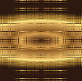 Golden grid background Stock Photography