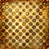 Golden grunge Royalty Free Stock Photos