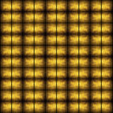 Golden grunge mosaic Stock Photos