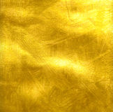 Golden grunge texture. Stock Photography