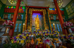 Golden Guan Yin, Bangkok, Thailand Royalty Free Stock Photos