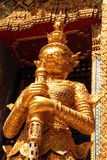 Golden Guardian at Wat Pra Kaew Royalty Free Stock Images
