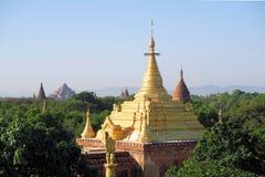 Golden Gubyaukne Buddhist Temple in Bagan, Myanmar Stock Photos