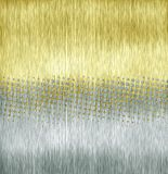 Golden halftone Stock Photography