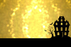 Golden Halloween Royalty Free Stock Photo