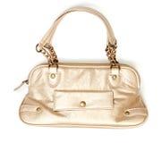 Golden handbags Royalty Free Stock Images