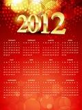 Golden happy new year Stock Photo