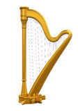 Golden Harp Royalty Free Stock Photo