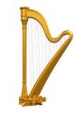 Golden Harp Royalty Free Stock Photo