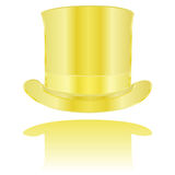 Golden hat Royalty Free Stock Image