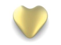 Golden Heart Stock Photos