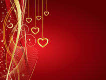 Free Golden Hearts Royalty Free Stock Image - 7619026
