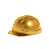 Golden helmet Royalty Free Stock Photography