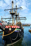 Golden Hind Stock Photo