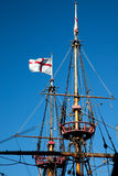 Golden Hinde Crows Nests Stock Image