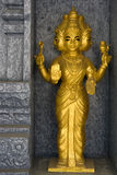 Golden Hindu Deity Royalty Free Stock Photos