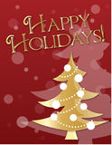 Golden Holiday Royalty Free Stock Photo