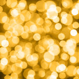 Golden holiday background Stock Images